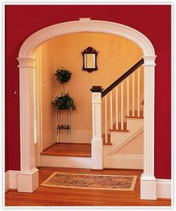 CurveMakers Patented Arch Kits, Wood Arches, D-I-Y Arched Doorways and Openings, Interior Archways, DIY Arches, Curved Moulding and Trim